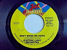 Electric Light Orchestra Don't Bring Me Down / Dreaming Of 4000 45 Vinyl Record