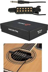 Silenceban Original Portable Acoustic Guitar Soundhole Pickup Transducer *NEW*