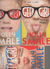 3 PAPERBACKs HOLLY SMALE GEEK GIRL MODEL MISFIT & PICTURE PERFECT
