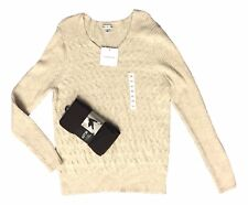 Croft & Barrow Size XLarge Beige Chenille Sweater and Apt 9 Plush Lined Leggings