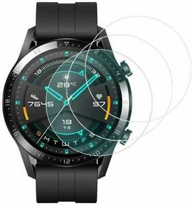 For Huawei Watch GT 2 46MM Tempered Glass Screen Protector Guard Ultra Clear