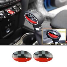 JCW Automatic Shift Knob Trim Cover Sticker For MINI Cooper F54 F55 F56  F57 F60