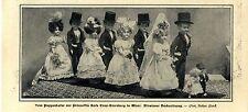 Vom Puppenbasar der Prinzessin Rosa Croy-Sternberg in Wien c.1904
