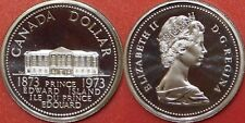 Proof Like 1973 Canada Prince Edward Island 1 Dollar From Mint's Set