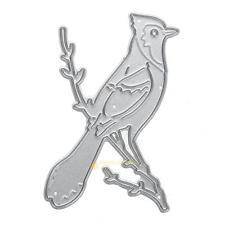 Parrot Metal Cutting Dies Stencils DIY Scrapbooking Embossing Paper Card Craft