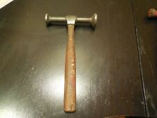 Vintage Blue Point Auto Body Hammer 2 Round Heads Free USA Shipping!