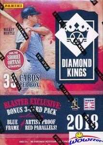 2018 Panini Diamond Kings Baseball EXCLUSIVE Factory Sealed Blaster Box !