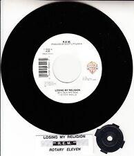 """R.E.M. (REM) Losing My Religion 7"""" 45 record NEW RARE! + juke box title strip"""
