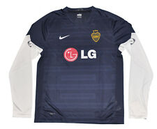 Boca Junior Training shirt long sleeves M Nike Blue Jersey Riquelme Unisex Adult