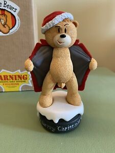 Bad Taste Bears -  Christmas Willy, Xmas Willy. Limited to 700 worldwide. Rare