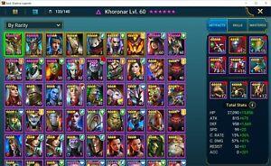 Raid Shadow Legends MidTier account - 7 Legos, Ninja, etc