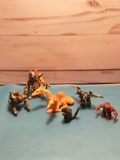 Vintage Mighty Max Orange Dragon/mini  1992 Bluebird Figures?Godzilla Manataur