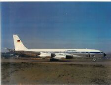 Luftwaffe Boeing Airplane B707-307C Color Photo