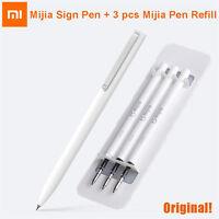 Original Xiaomi Mijia Sign Pen 9.5mm Signing Pen + 3pcs Refill Ink PREMEC Smooth
