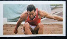 Long Jump LYNN DAVIES SUPERSTARS SERIE TV FOTO CARD # in buonissima condizione