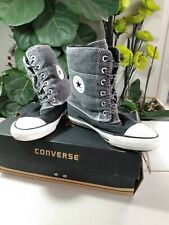 Converse All Stars Winter Size 36 Dark Grey Boot Trainers
