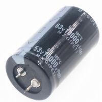 63v 10000uf 6800uf 4700uf 3300uf 2200uf 1500uf 1000uf mfd electrolytic capacitor