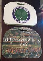 Vintage Wimbledon Tennis Championship Seat Cushions 2001