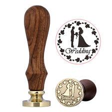 DIY Custom Marriage Love Wax Seal Stamp Sealing Wedding Envelope Craft Gifts New