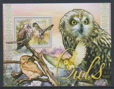 Uganda - 2012, Birds of Prey, Eagle Owl sheet - MNH