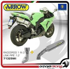 Arrow 2 terminali scarico Street Thunder titanio omologato Kawasaki ZX10R 06