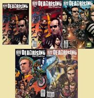 DEAD RISING road to fortune NYCC ASHCAN + 1 2 3 4 1st print set (5) COMIC IDW NM
