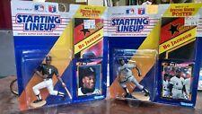 1992 Bo Jackson Starting Lineup Baseball White Sox (Batting & Running lot) b55