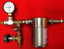 Balston Filter Type 33 + Vacuum Gauge 30Hg + Hoke Needle Valve + Knob and More
