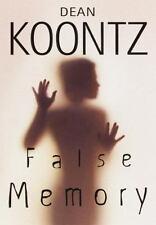 False Memory by Dean Koontz (1999, Hardcover)
