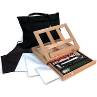 Artists Oil Color Easel Art Set with Easy To Store Bag by Royal and Langnickel