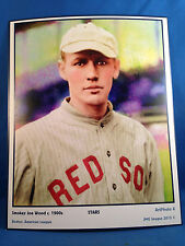 Smokey Joe Wood, Boston, Art Photo #6 - 8 x 10 image of Star player c. 1900's