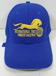 Official International Trot YONKERS RACEWAY Cap Empire City Casino BLUE HAT NEW