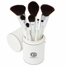 Coastal Scents Creme de la Creme Makeup Brush Set, 8 Elegant Cosmetic Brushes, N