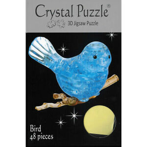 3D Crystal Puzzle - Bluebird Authentic