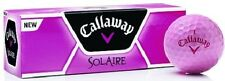 NEW – Callaway Ladies Solaire golf balls- PINK (1 Sleeve; 3 Balls Total)