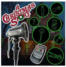 A Christmas Story Red and Green Laser Lights Full Motion Remote Leg Lamp