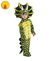 RUBIES Unisex Boys Girls FANCY DRESS COSTUME TRICERATOPS DINOSAUR DINO 885802
