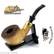 "OUTSTANDING Mr.Brog original smoking pipe nr. 28 "" VINEWOOD BIG "" Wine OAK RARE"