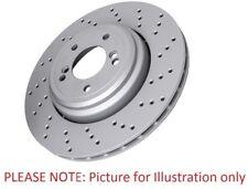 2x Brake Disc Set Pair 302mm Peugeot RCZ - Pagid 55681C