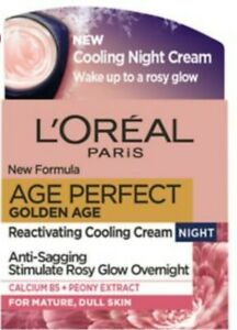 NEW L'Oreal Paris Age Perfect Golden Age  Night Cream Moisturiser for Mature UK