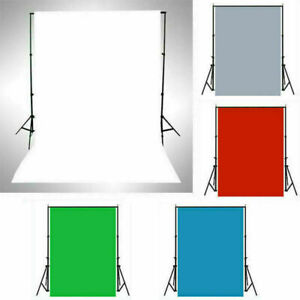 Green Screen Photography Background Studio Solid Color Backdrop Red White Gray