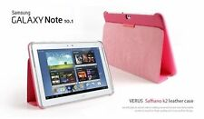 "Verus Saffiano K2 Leather Case - To Suit Samsung Galaxy Note 10.1"" - Pink"