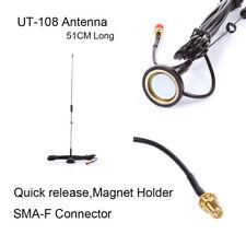 Genuine NAGOYA UT-108UV SMA-F Magnetic Vehicle Mounted Antenna Fr KG-UVD Baofeng