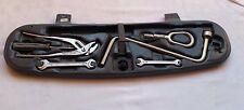 OEM BMW E46 Trunk Tool Box Tools Screwdriver Spanner Wrench Towing Hinge Set OEM