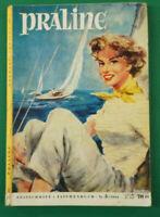 Praline Nr. 3 / 1954 3.Ausgabe !  Taschenbuch Format H. Bauer Verlag K-1570
