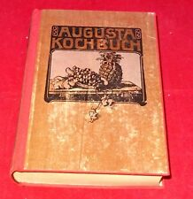 Augusta-Kochbuch nachgebunden