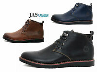 Mens Casual Ankle Boots Fashion Chelsea Designer Shoes Smart  UK 6 7 8 9 10 11