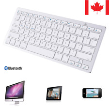 New Bluetooth Wireless Keyboard Keypad Ultra-Slim For PC Pad Laptop Tablet iOS