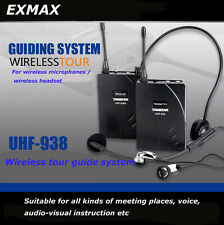 TAKSTAR UHF-938 Wireless Tour Guide System Teaching Training Visit Tourism Spot