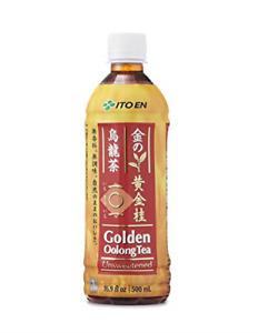 Ito En Tea Golden Oolong Tea, Unsweetened, 16.9 Ounce Pack of 12